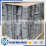 factory galvanized barbed wire for cattle fence building