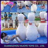 2016 newest inflatable bowling games, adult inflatable water games sale,attraction sport games infltatable