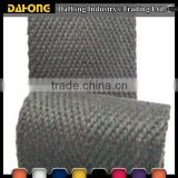52mm wide chevron organic woven cotton belt webbing for safety-belt