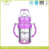 BPA Free Crystal Glass Water Bottle For Baby