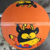 inflatable outdoor indoor mini rubber basketball ball size 3
