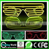 factory manufacture factory wholesale wholesale plastic flashing led glasses