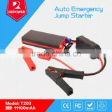 Powerful ultra-capacity 12V car lithium battery jump starter for Iphone Ipad Sumsung etc