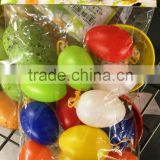 Plastic colorful Easter Egg Wholesale For Promotion