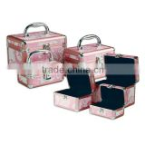 Floral 3 PC Makeup Case Set| Floral 3 PC Cosmetic Case Set ZYD-HZ227
