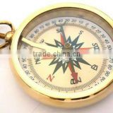 Brass Nautical yellow dial compass shiny pendant/ Nautical Pendant / Compass FOR PENDANT