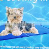 Cooling Dog Bed Pad for Dogs - Cool Pet Beds - Chilly Gel Mat 12inch x 15inch