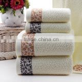 Jacquard Cotton Terry towel disposable hotel resort bathrobe ( Verified Factory By Alibaba )