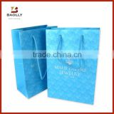 Custom art paper shopping gift bag with rope handle                                                                                         Most Popular                                                     Supplier's Choice