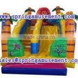 outdoor high quality and cheap inflatable lion slide, inflatables, inflatable water slide SP-SL110