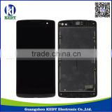 for lg leon h340n lcd touch screen digitizer assembly with frame , for lg leon h340n repair parts