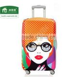 Top quality plastic suitcase cover bag wholesale