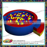 soft play indoor equipment Round shape ball pits for kids and baby