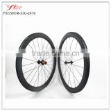 3K Matte FSC50CM-23U-2016 Far Sports new Clincher carbon bicycle wheels 50mm x 23mm road bike wheelset hot-selling