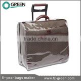 Protective transparent plastic covers for suitcase covers