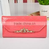 Hot fashion high quality leather purse , leather wallet ,women purse alibaba china direct factory