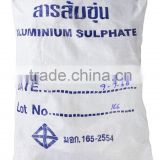 Alum aluminium sulphate price for water treatment and industry chemical , water crystal clear with THAI MANUFACTURER CER.
