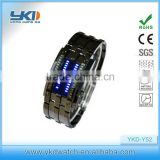 2014 hot selling fashion light display led watch