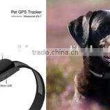 low cost mini waterproof dog gps tracker,with metal clip,could hang on the collar strongly