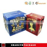 6 PACK/BOTTLE BEER CARRIER BOX, Corrugated paper beer bottle Packaging,Hard paper bottled beer packaging
