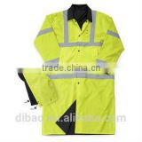 rain overall coat reflective tape with hood