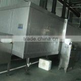 IQF tunnel freezer, used machine IQF/quick freezing room, IQF freezing equipment