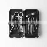 Wholesale high quality nail care kit stainless steel manicure set porable metal manicure kit nail clipper 12pcs/set                                                                         Quality Choice