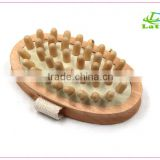 Full Body natural bristle skin brush Dry Skin Exfoliation Brush / Detox - Fight Cellulite                                                                         Quality Choice