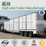 Tri-axle strong box utility semi trailers with cheap price