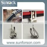 Stainless Steel SunRack Solar Cable Clip