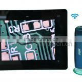 wireless microscope work on iPad/iPhone/Android tablet PC/Android mobile, 5-200 wireless microscope