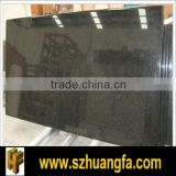 High quality Black Galaxy Granite slab