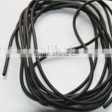 Solid solid core rubber rope
