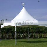 High quality Easy set High Peak 5 x 5 m white outdoor PVC wedding party tents, event tents, gazebo, carports with sidewalls