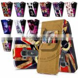 For LG G Flex 2 High Quality Print Flip PU Leather Case Cover Moible Phone Case