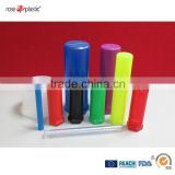 PP transparent PVC clear PE colorful adult toys adult care plastic packaging tube Twist Pack DP