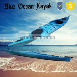 Blue ocean 2015 new design transparent canoe kayak/sea transparent canoe kayak/ocean transparent canoe kayak