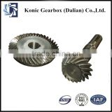 New series OEM customized helical bevel gear for gearbox parts from direct factory supplier