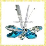 Wholesale Crystal Glass Butterfly Ornaments For 2014 New Year Gifts