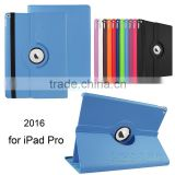 China Factory Smart Case Cover 360 Rotating For Apple iPad Pro 12.9 Inch PU Leather Auto Sleep Wake Case