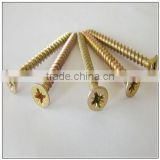 Drywall Screw Philips Bugle Head Fine Thread Hardend Black Phospated Chipboard Screws Particle Board Screws