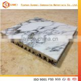 high strength artificial stone honeycomb wall panel for floor