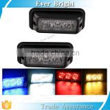 Hot new products for 2016 3 LED Waterproof Grille Car Truck Strobe Flash Emergency Warning Light SUV