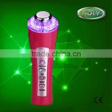 Wholesale portable ultrasonic ionic led light facial massage care beauty machine for home use