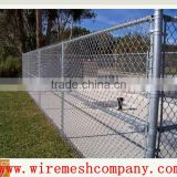 "hot galvanized 2""chain link fence/cyclone wire mesh"