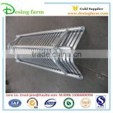 Outdoor metal park bench with customized size