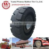 solid tire for Reach Stackers container forklift truck tire 18.00-25