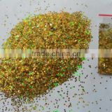 wholesale Polyester bulk glitter powder with good quality