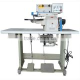 Semi Automatic Leather Folding And Gluing Machine