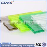 Commercial Greenhouse building material used 2-18mm Muti-wall hollow polycarbonate plastic sheet
